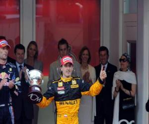 Puzzle Robert Kubica - Renault - Monte-Carlo 2010 (3e rang)