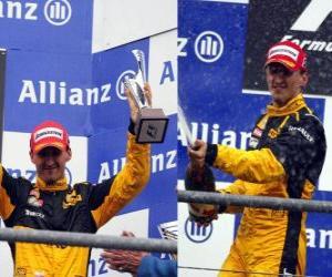 Puzzle Robert Kubica - Renault - Spa-Francorchamps, Grand Prix de Belgique 2010 (classée 3ème)