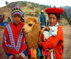 Puzzle Robes traditionnelles Inca