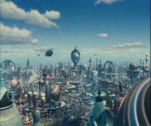 Puzzle Robot City