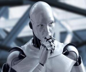 Puzzle Robot extraterrestre