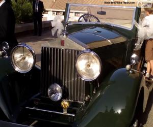 Puzzle Rolls-Royce mariage