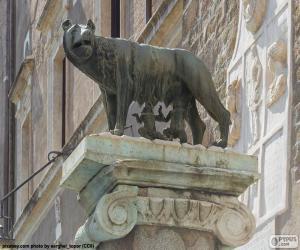 Puzzle Romulus et Rémus