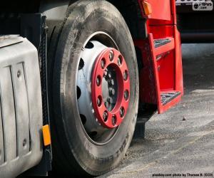 Puzzle Roue de camion