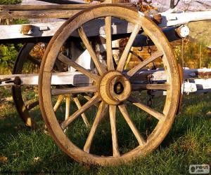 Puzzle Roue de chariot