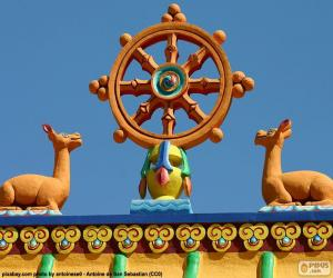 Puzzle Roue du Ddharma