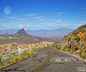 Puzzle Route 66, Arizona