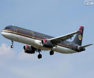 Puzzle Royal Jordanian Airlines