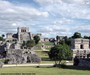 Puzzle Ruines de Tulum, Mexique