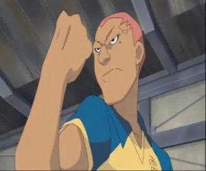 Puzzle Ryugo Someoka ou Kevin Dragonfly, l'attaquant grincheux de Raimon équipe de football