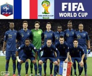 Puzzle Sélection de France, Groupe E, Brésil 2014