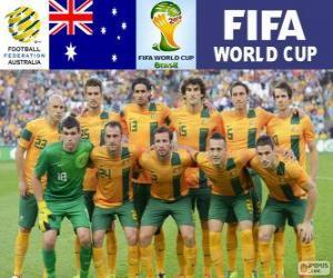 Puzzle Sélection de l'Australie, Groupe B, Brésil 2014