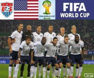 Puzzle Sélection des États-Unis, Groupe G, Brésil 2014