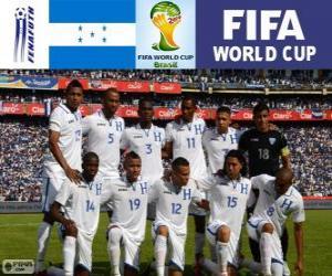 Puzzle Sélection du Honduras, Groupe E, Brésil 2014