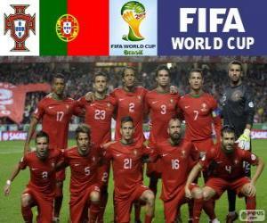 Puzzle Sélection du Portugal, Groupe G, Brésil 2014
