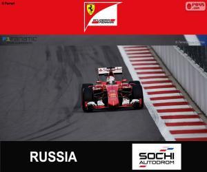 Puzzle S. Vettel G.P de Russie 2015