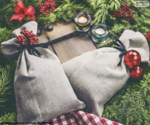 Puzzle Sacs-cadeaux de Noël