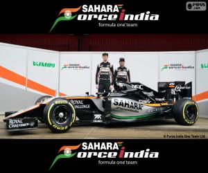 Puzzle Sahara Force India F1 2016