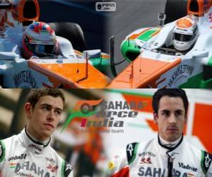 Puzzle Sahara Force India F1 Team 2013