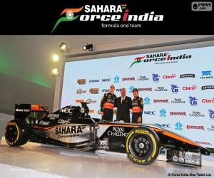 Puzzle Sahara Force India F1 team 2015