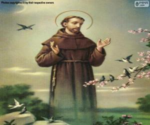 Puzzle Saint François d'Assise