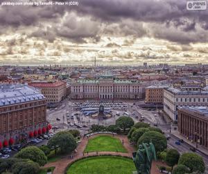 Puzzle Saint-Pétersbourg, Russie