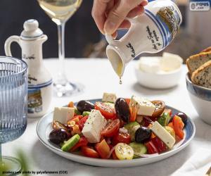 Puzzle Salade grecque