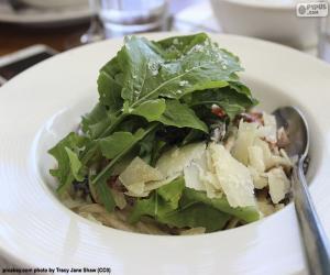 Puzzle Salades de feuilles vertes