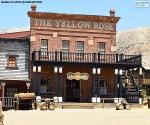 Puzzle Saloon ouest