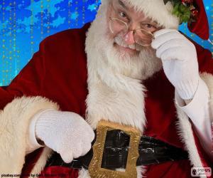 Puzzle Santa Claus observé