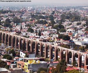 Puzzle Santiago de Queretaro, Mexique