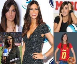 Puzzle Sara Carbonero est un journaliste sportif espagnol.