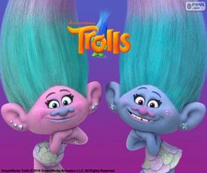 Puzzle Satin et Chanille, les jumeaux