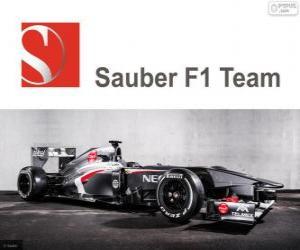 Puzzle Sauber C32 - 2013 -
