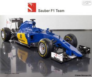 Puzzle Sauber F1 Team 2015