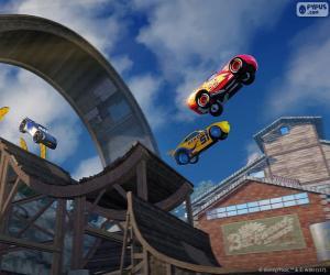 Puzzle Saut, jeu vidéo Cars 3