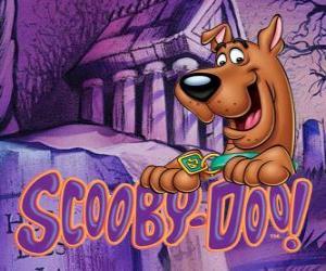 Puzzle Scooby-Doo avec le logo