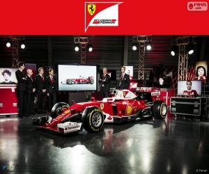 Puzzle Scuderia Ferrari 2016