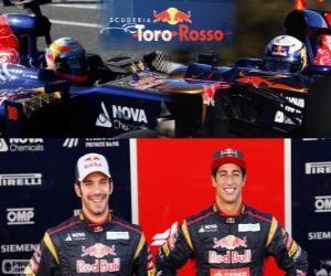 Puzzle Scuderia Toro Rosso 2013