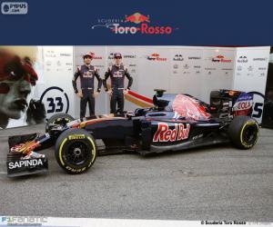 Puzzle Scuderia Toro Rosso 2016