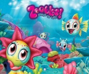 Puzzle Seagonia, la mer de la Zoobles