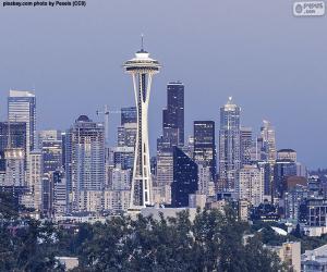 Puzzle Seattle, États-Unis