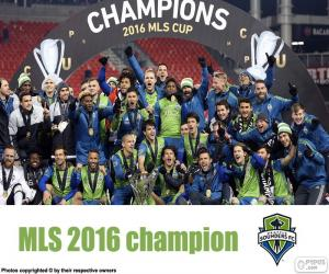 Puzzle Seattle Sounders, MLS 2016