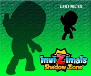 Puzzle Secret Invizimal. Invizimals Shadow Zone. Personne ne sait rien à propos de cette mystérieuse et secrète Invizimal