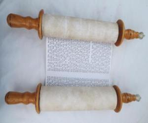Puzzle Sefer Torah, un rouleau de la Torah