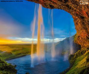 Puzzle Seljalandsfoss, Islande