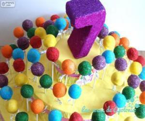 Puzzle Septième anniversaire