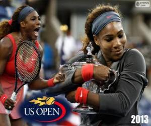 Puzzle Serena Williams Championne US Open 2013