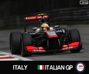 Puzzle Sergio Perez - McLaren - Monza, 2013
