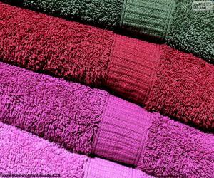 Puzzle Serviettes de bain